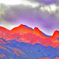 Red Mt Rainbow by Carl Deaville