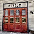 Red Museum Door by Craig Voth