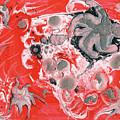 Red Nebula by Corby Bender