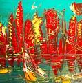 Red Nyc by Mark Kazav
