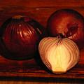 Red Onions by Inna Podolska