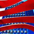 Red Over Blue by Daved Thom