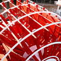 Red Paddle Wheel by Art Block Collections