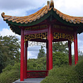 Red Pagoda by Sally Weigand
