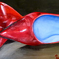Red Patent Shoes by Tammy Watt