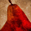 Red Pear II by Carol Leigh