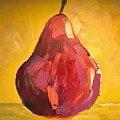 Red Pear by Kate Speer Ely