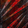 Red Pepper Abstract by Svetlana Sewell