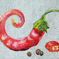 Red Pepper by Rosa Vard