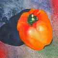 Red Pepper Solo by Jean Blackmer