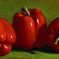 Red Peppers by Frank Wilson