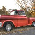 Red Pick-up by Steve Gravano