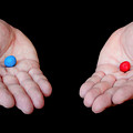 Red Pill Blue Pill by Semmick Photo