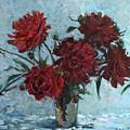 Red Piones by Juliya Zhukova