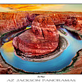 Red Planet Panorama Poster Print by Az Jackson