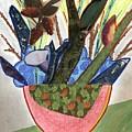 Red Planter by David Jacobi