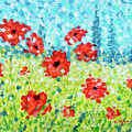Red Poppies 002 by Cristina Stefan