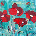 Red Poppies 2 by Gina De Gorna