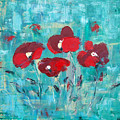 Red Poppies by Gina De Gorna