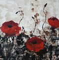 Red Poppies by Sheli Paez