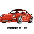 1997  Porsche 993 Twin Turbo R by Jack Pumphrey