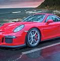Red Porsche by Bill Posner