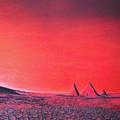 Red Pyramid W by Mayhem Mediums