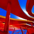 Red Ride Blue Sky by Daved Thom