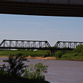 Red River Truss Bridge by Robyn Stacey