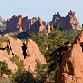 Red Rock Canyon And Garden Of The Gods by Steve Krull