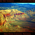 Red Rock Canyon Poster Print by James BO  Insogna