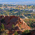 Red Rock Canyon Rock Quarry And Colorado Springs by Steve Krull