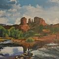 Red Rock Crossing by Suzette Kallen