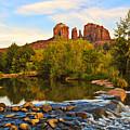 Red Rock Crossing Three by Paul Basile