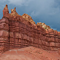 Red Rock Formation by Alan Toepfer