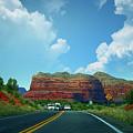 Red Rock Splendor by Ola Allen
