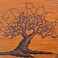 Red Rocks Love Tree by Aaron Bombalicki
