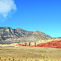 Red Rocks Nevada Panorama by Frank Wilson