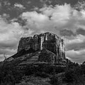 Red Rocks Sedona Bnw 1 by David Haskett II