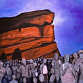 Red Rocks by Tabetha Landt-Hastings