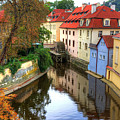 Red Roofs Of Prague by Jay Lee