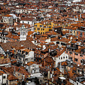 Red Roofs Of Venice by Rui Boino