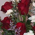 Red Rose Bouquet by Tina Barnash