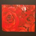 Red Roses by Judith Hoof van