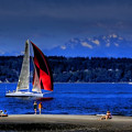 Red Sail by David Patterson