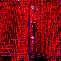 Red Scaffold by Andy  Mercer