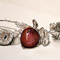 Red Sexy Plum. by Shlomo Zangilevitch