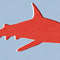 Red Shark by Linda Woods
