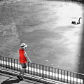 Red Shirt, Black Swanla Seu, Palma De by John Edwards