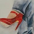 Red Shoes by Karen Drake